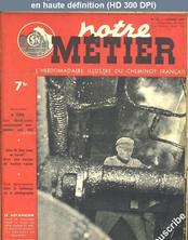 NOTRE METIER LA VIE DU RAIL numéro 136 du 03 février 1948