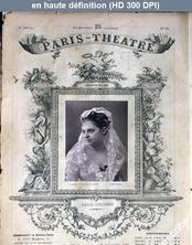 PARIS THEATRE numéro 28 du 27 janvier 1873