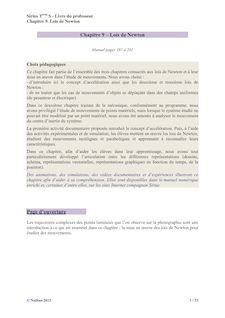Correction chapitre 9 - Physique-Chimie Sirius 2012