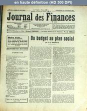 JOURNAL DES FINANCES numéro 42 du 19 octobre 1956
