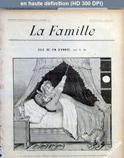 LA FAMILLE  numéro BIS du 16 décembre 1900