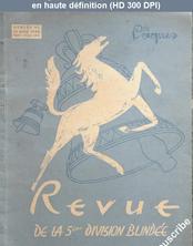REVUE DE LA 5 EME DIVISION BLINDEE numéro 42 du 15 avril 1949