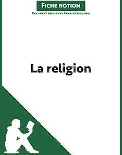 La religion - Fiche notion