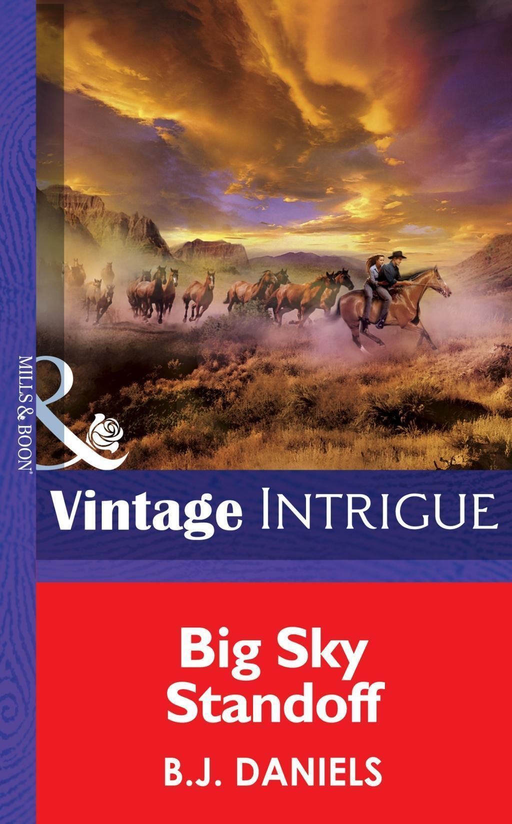Big Sky Standoff (Mills & Boon Intrigue) (Montana Mystique, Book 3)