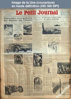LE PETIT JOURNAL  numéro 26193 du 03 octobre 1934
