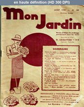 MON JARDIN numéro 105 du 01 août 1939