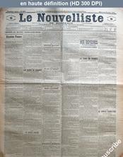 LE NOUVELLISTE DE BORDEAUX  numéro 6996 du 28 août 1901