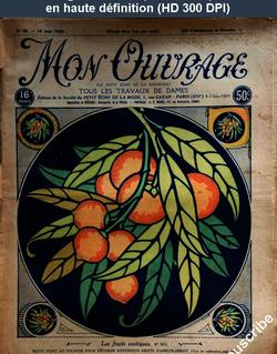 MON OUVRAGE numéro 80 du 15 juin 1926