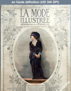LA MODE ILLUSTREE  numéro 51 du 21 décembre 1913