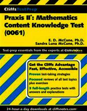 CliffsTestPrep®Praxis II®: Mathematics Content Knowledge Test(0061)