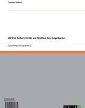 Wilfrid Sellars Kritik am Mythos des Gegebenen