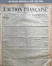 L' ACTION FRANCAISE  numéro 348 du 14 décembre 1913