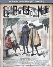 LE PETIT ECHO DE LA MODE  numéro 39 du 26 septembre 1920