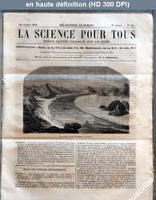 LA SCIENCE POUR TOUS  numéro 48 du 29 octobre 1863