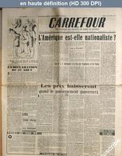 CARREFOUR numéro 106 du 29 août 1946