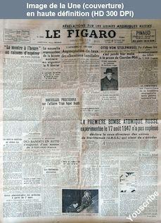 LE FIGARO  numéro 1060 du 07 février 1948