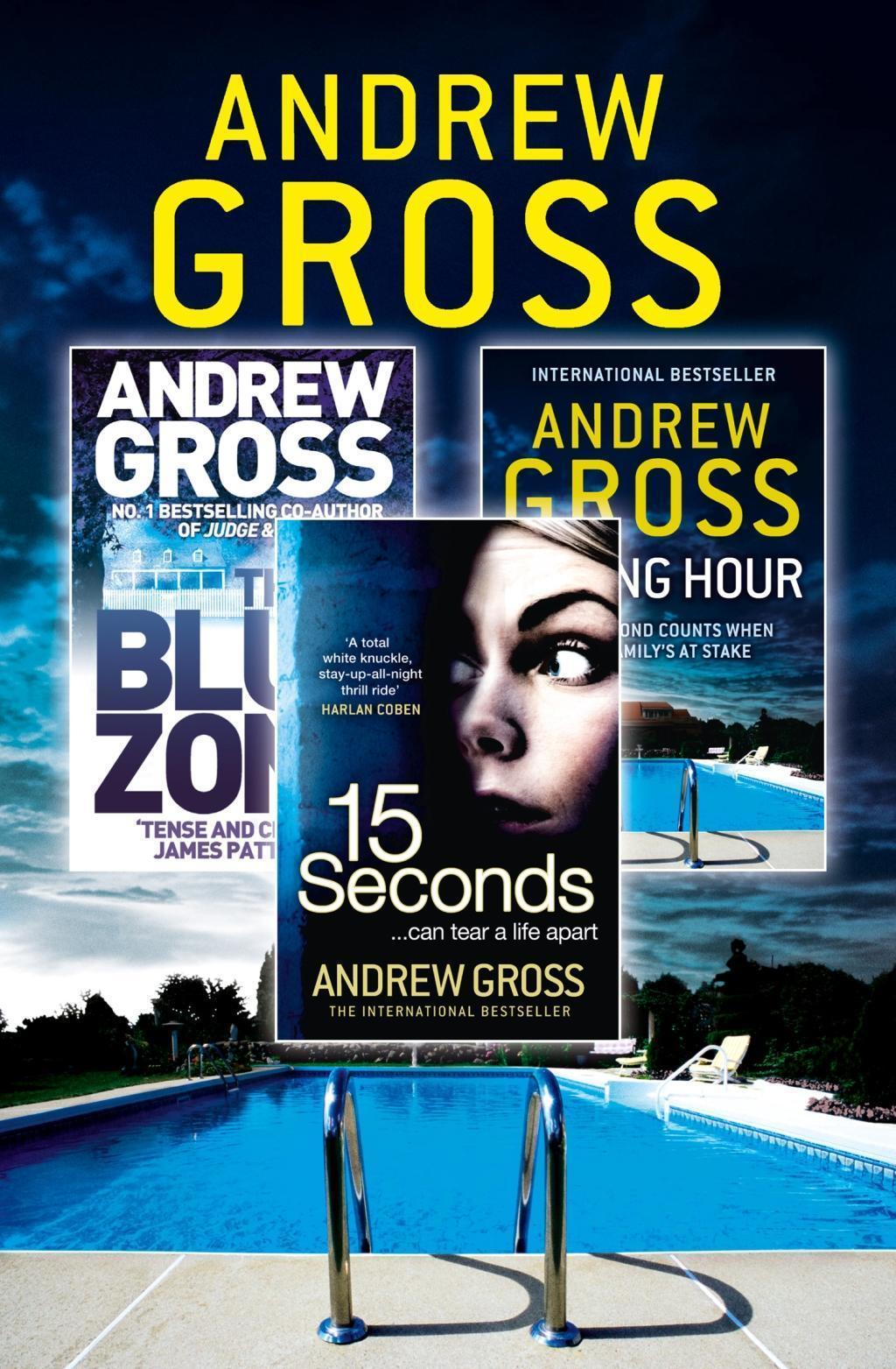 Andrew Gross 3-Book Thriller Collection 2: 15 Seconds, Killing Hour, The Blue Zone