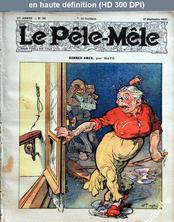 LE PELE MELE  numéro 38 du 17 septembre 1911