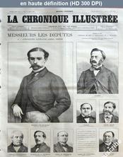 LA CHRONIQUE ILLUSTREE  numéro 27 du 21 janvier 1869