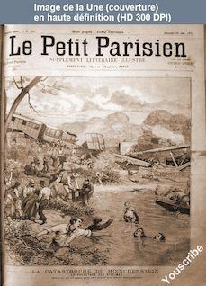 LE PETIT PARISIEN ILLUSTRE  numéro 125 du 28 juin 1891