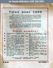 AUX ECOUTES DU MONDE du 26 décembre 1958