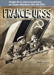 FRANCE URSS numéro 11 du 01 octobre 1944