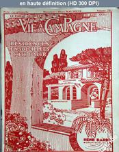 LA VIE A LA CAMPAGNE  numéro 70 du 15 août 1931