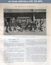LES MISSIONS CATHOLIQUES  numéro 1888 du 28 juillet 1905