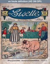 LISETTE numéro 167 du 21 septembre 1924