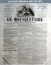 LE MOUSQUETAIRE  numéro 309 du 05 novembre 1855