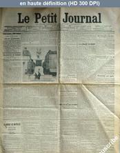 LE PETIT JOURNAL  numéro 15911 du 20 juillet 1906