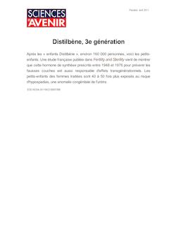 Distilbène, 3e génération