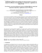 Modélisation prédictive de la cinétique de cuisson des époxys avec prise en compte de la diffusion et de la dépendance en température : application à la résine LY 556
