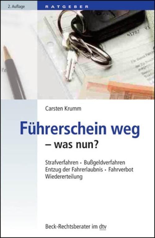 Führerschein weg - was nun?