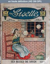 LISETTE numéro 162 du 17 août 1924