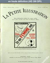 LA PETITE ILLUSTRATION THEATRE  numéro 186 du 15 mars 1924