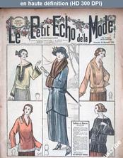 LE PETIT ECHO DE LA MODE  numéro 48 du 26 novembre 1922