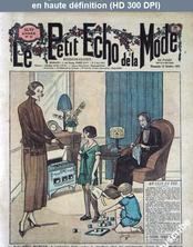 LE PETIT ECHO DE LA MODE  numéro 41 du 12 octobre 1924