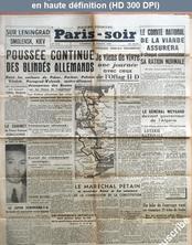 PARIS - SOIR numéro 6512 du 18 juillet 1941
