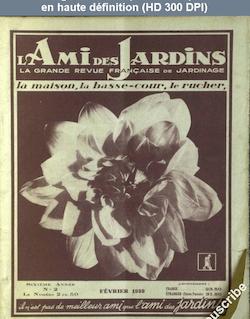 L' AMI DES JARDINS  numéro 2 du 01 février 1939