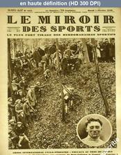 LE MIROIR DES SPORTS  numéro 412 du 07 février 1928
