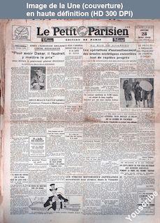 LE PETIT PARISIEN  du 28 mai 1942