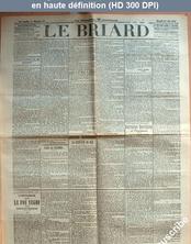 LE BRIARD  numéro 45 du 14 juin 1911