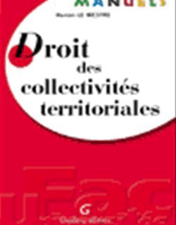 Manuels. Droit des collectivités territoriales