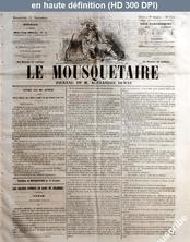 LE MOUSQUETAIRE  numéro 315 du 11 novembre 1855