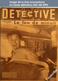 QUI DETECTIVE numéro 433 du 18 octobre 1954