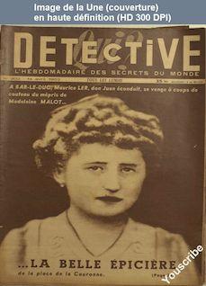 QUI DETECTIVE numéro 302 du 14 avril 1952