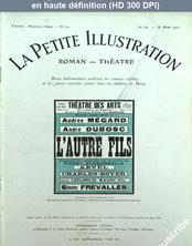 LA PETITE ILLUSTRATION THEATRE  numéro 89 du 18 mars 1922