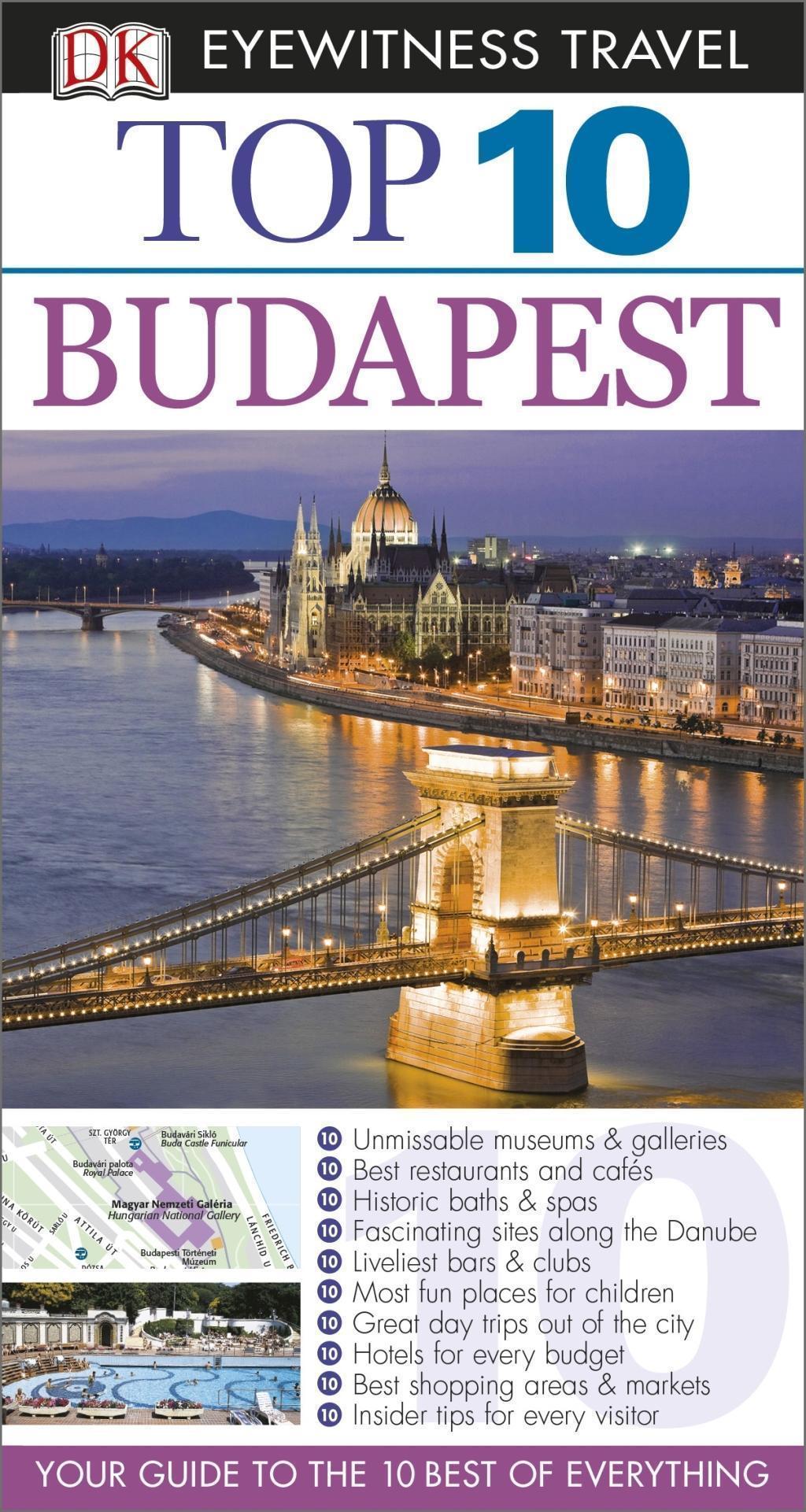 DK Eyewitness Top 10 Travel Guide: Budapest