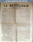 LE REPUBLICAIN DE SEINE ET MARNE  numéro 1263 du 25 mai 1884